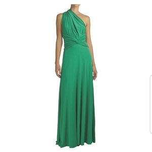 981c4e17e02 Emerald Green Infinity Dress